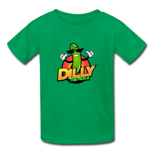 Kids' Dilly Toons 🤩 | Multiple Colors - kelly green