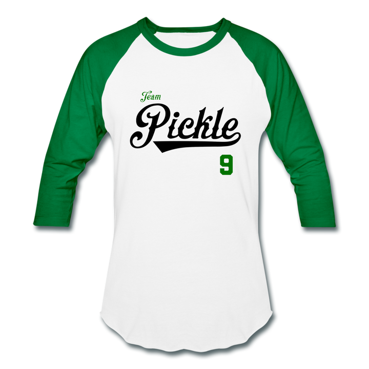 Team Pickle ⚾️ Multiple Colors - white/kelly green