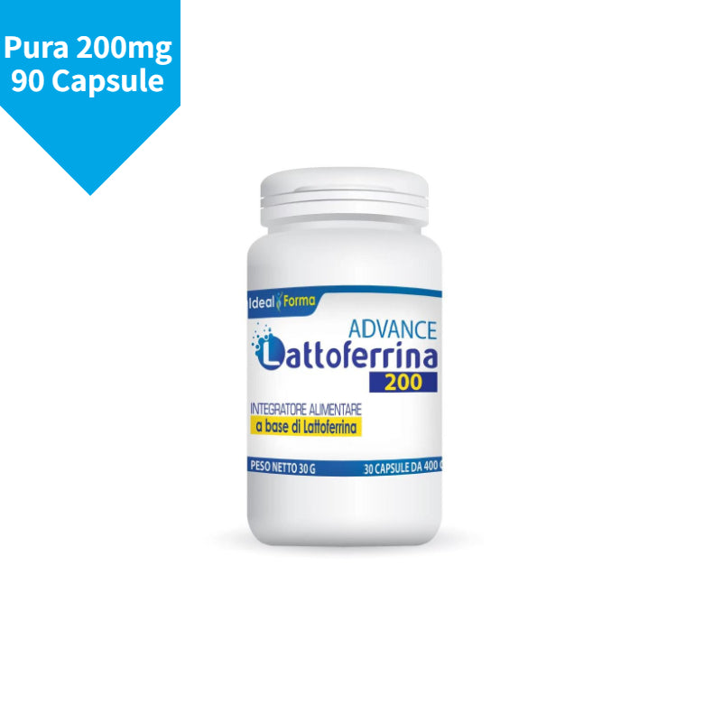 Lattoferrina Pura 200mg Advance 90 Capsule