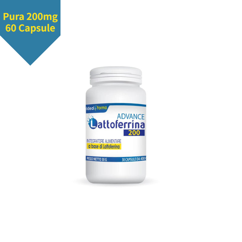 Lattoferrina Pura 200mg Advance 60 Capsule