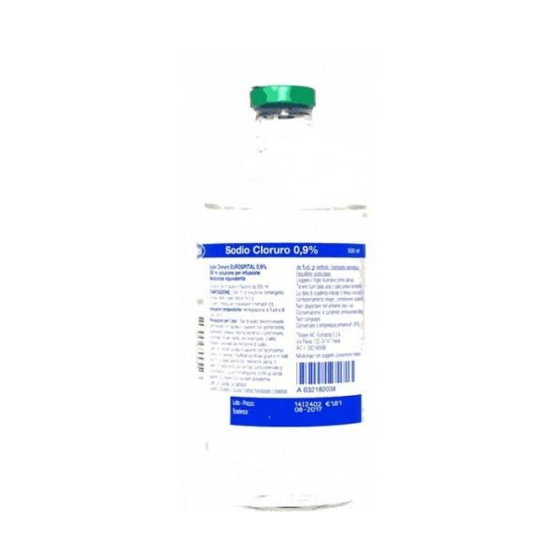 Sodium Chloride (Eurospital) * 1 Bottle 500 Ml 0,9%