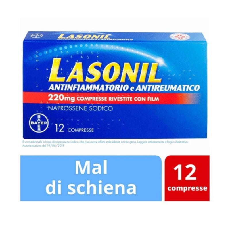 Lasonil Antinfiammatorio E Antireumatico*12 Cpr Riv 220 Mg