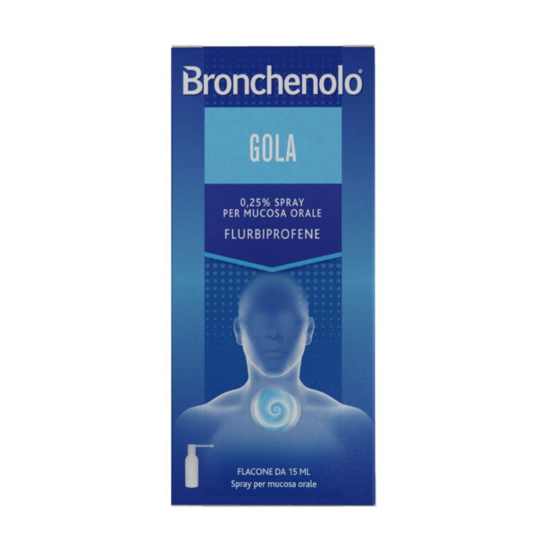 Bronchenolo Gola*Spray Mucosa Orale 15 Ml 0,25%