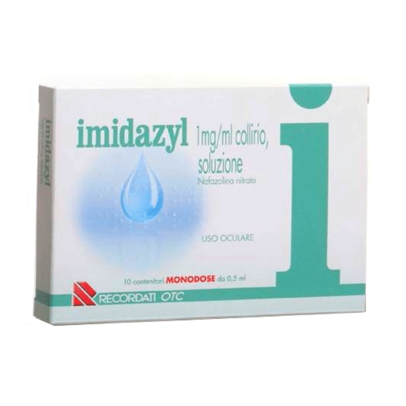 Imidazyl Collirio 10 Monodosi 0,5 ml 0,1%
