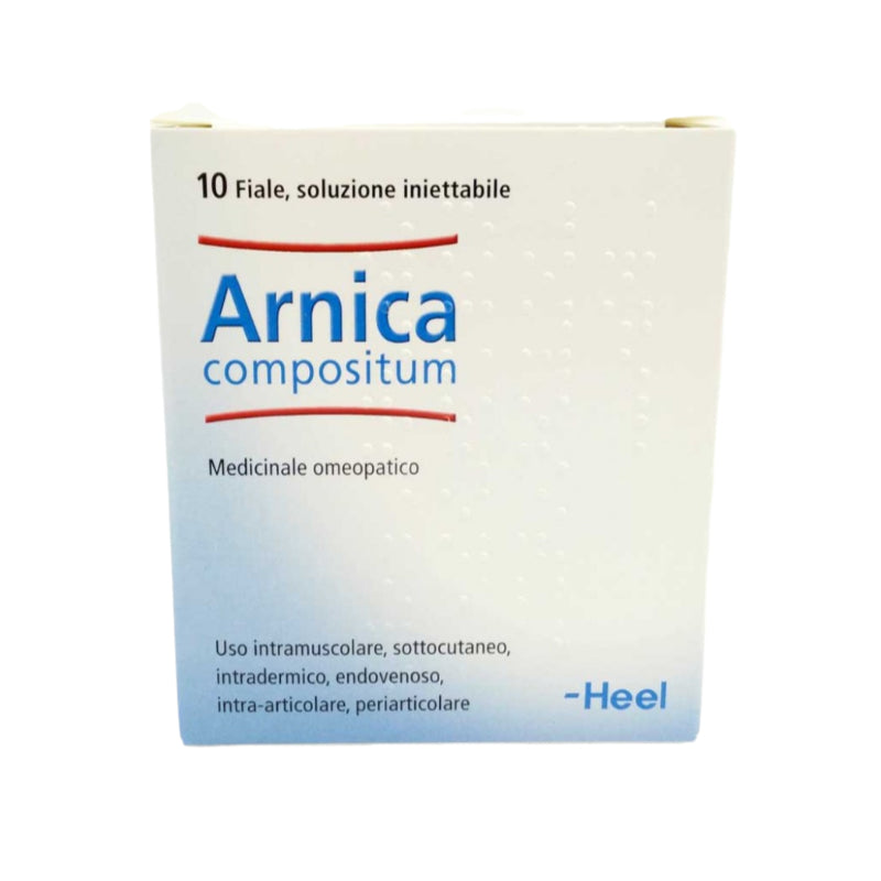 Heel Arnica Composed 10 Ampoules Of 2,2 Ml Each