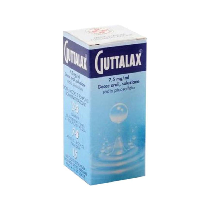 Guttalax*Orale Gtt 15 Ml 7,5 Mg/Ml