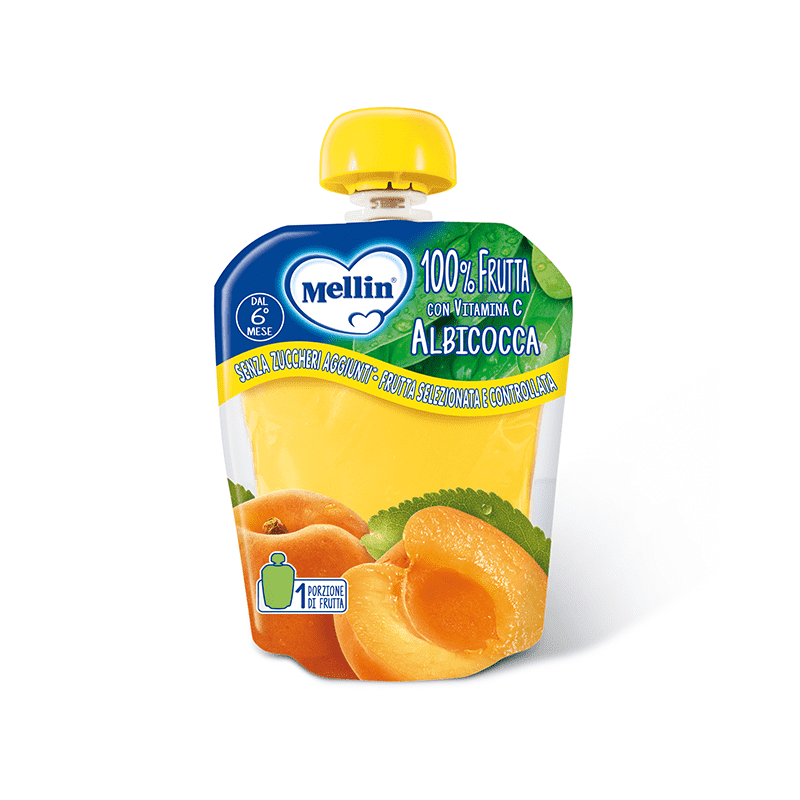 Mellin Snack 100% Apricot 90G