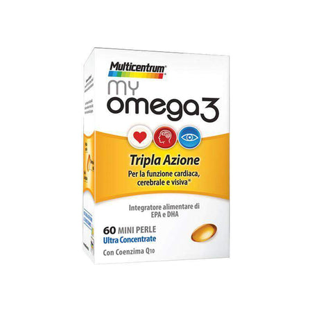 Multicentrum Myomega3 60 Mini Perle