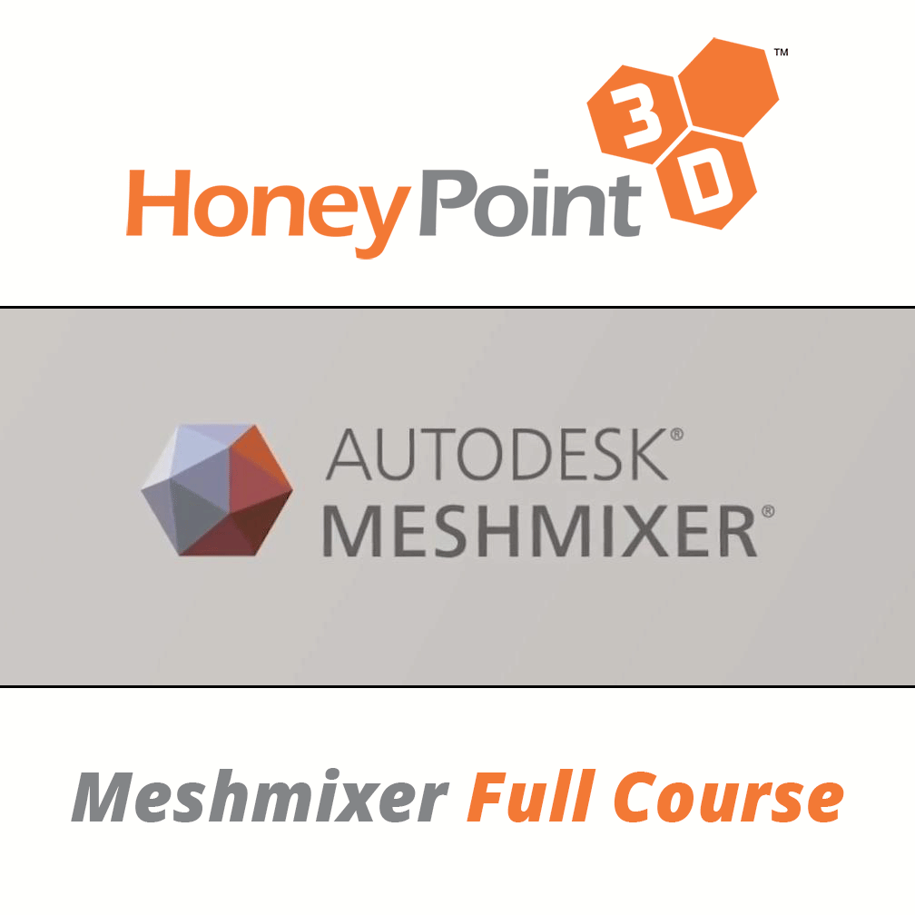 HoneyPoint3D Meshmixer for 3D Printing and 3D Design