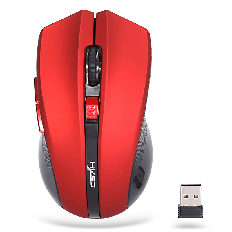 HXSJ X50 2.4GHz Wireless 6 Buttons Optical Gaming Mouse