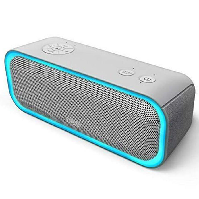 Doss DS - BT10 Pro Wireless Bluetooth Stereo Speaker Bass Soundbox with LED Light