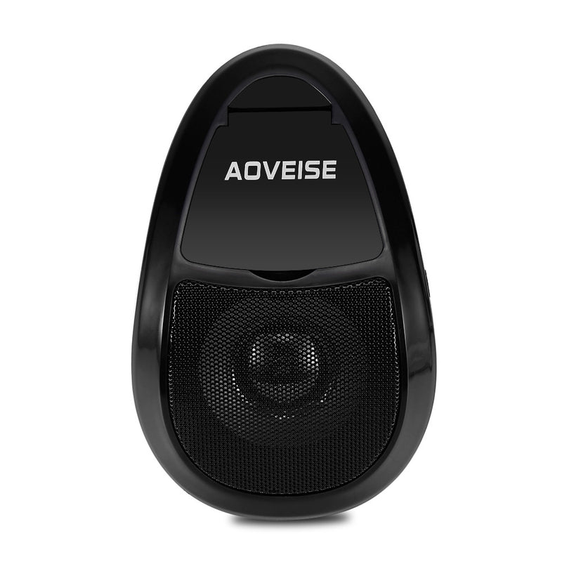 2PCS AOVEISE MT493 Motorcycle Bluetooth Speakers MP3 Audio Player Waterproof FM Tuner