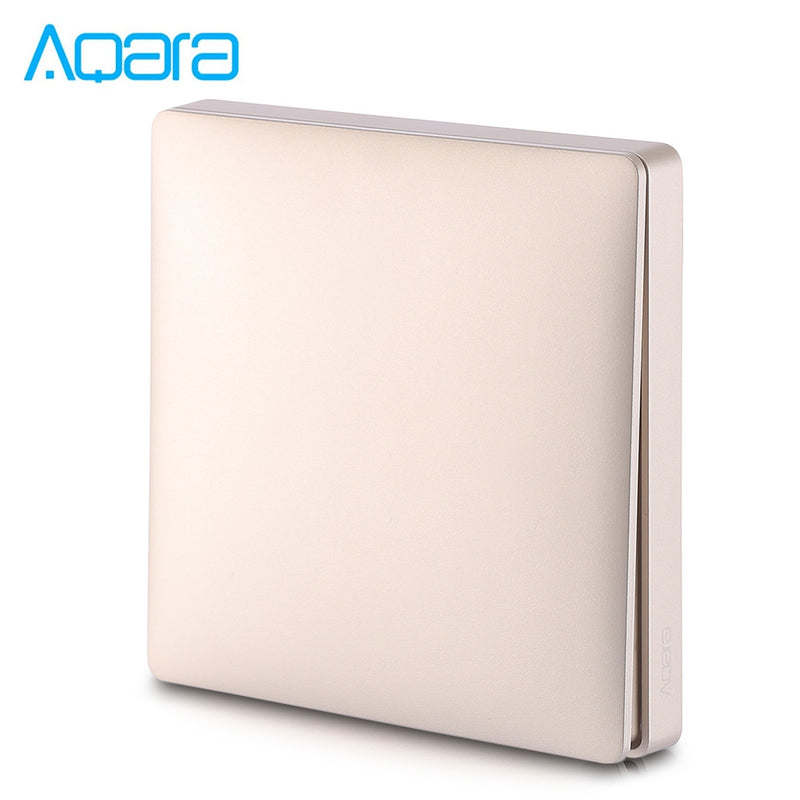 Aqara Single Button Wall Home Switch Panel Single Fire Single Key Version ( Xiaomi Ecosystem Product )