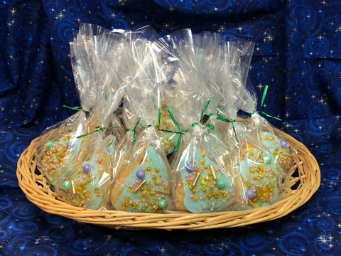 An image of Fairy Scones individually packaged for a special event