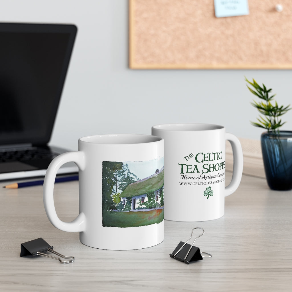 Celtic Tea Shoppe Mug 11oz