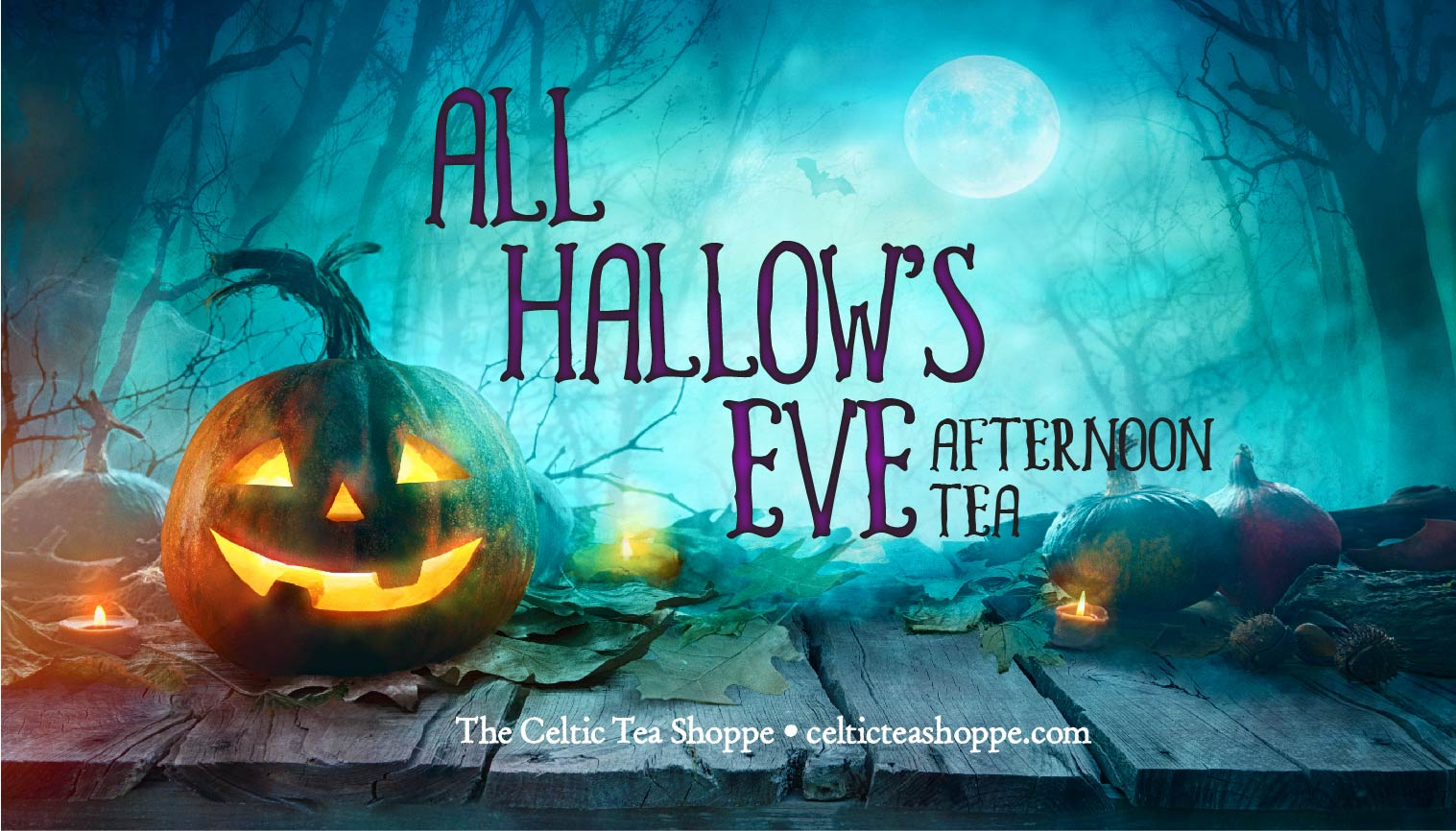 All Hallows' Eve Afternoon Tea