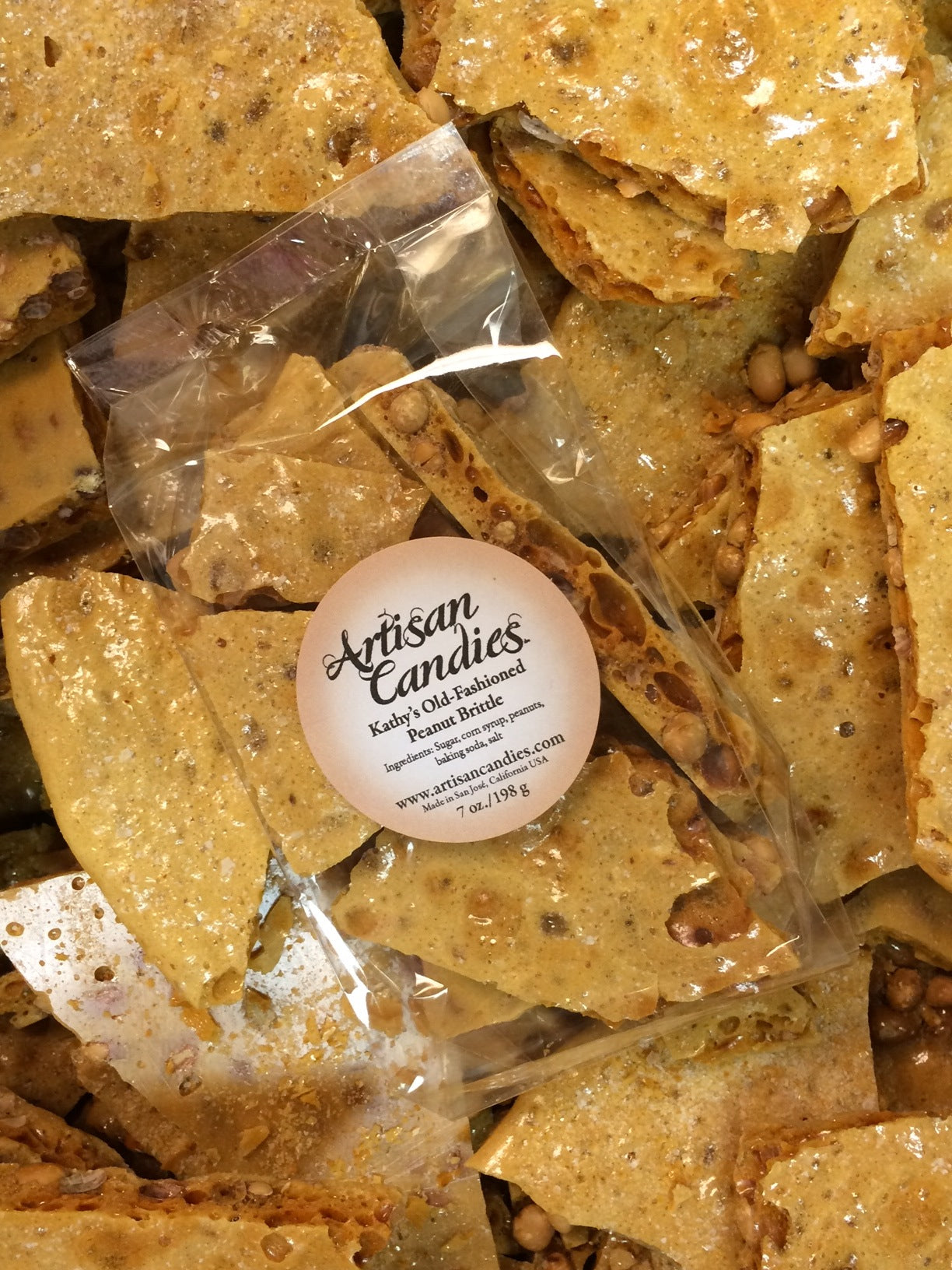 Kathy's Old Fashioned Peanut Brittle