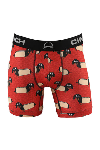 Cinch Men's Hot-Dog Boxer Briefs