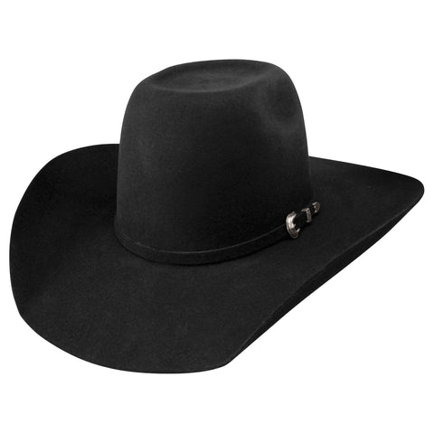 RESISTOL BLACK PAY WINDOW JR. WESTERN HAT