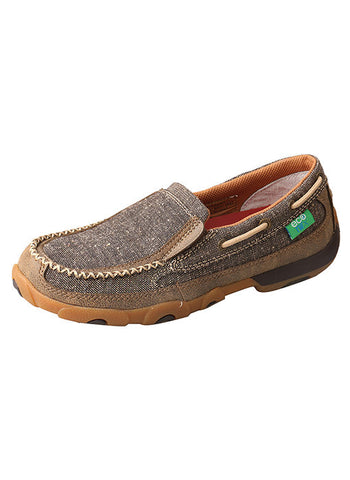 Twisted X Women's Dust Driving Mocs Slip On D Toe