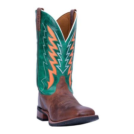 Laredo Men's 12 inch Brown Green Dalton Boot