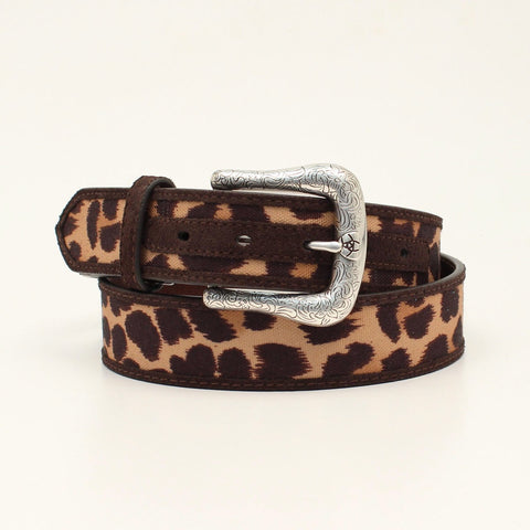 Ariat Womens Leopard Belt
