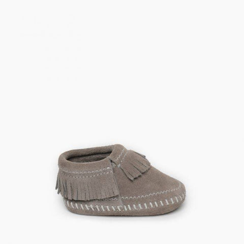 Minnetonka Infant Riley Bootie Grey