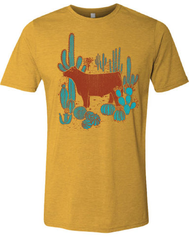 Women's Steer Desert T-Shirt
