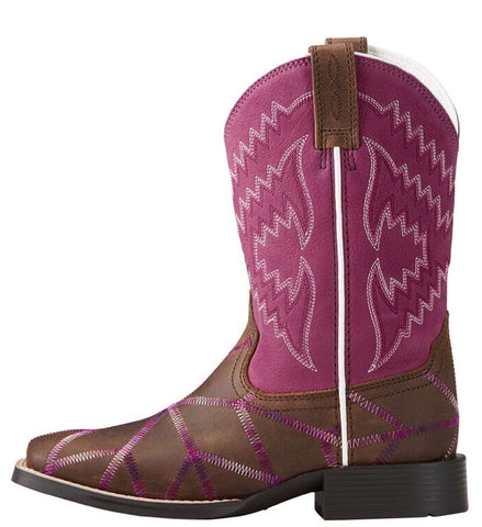 Ariat Kid's Twisted Tycoon Western Boot