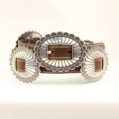 Nocona Women's Large Concho Belt