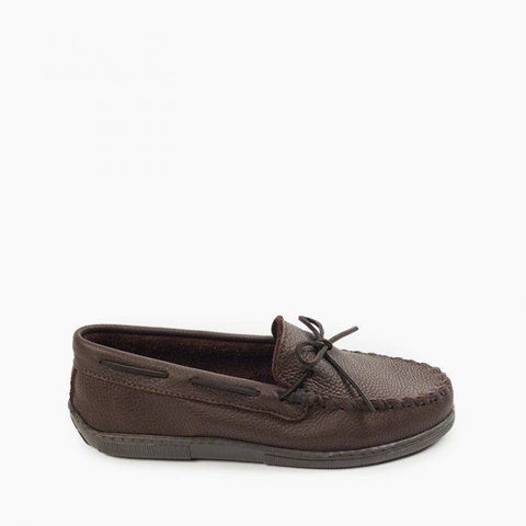 Minnetonka Men's Moosehide Classic Chocolate