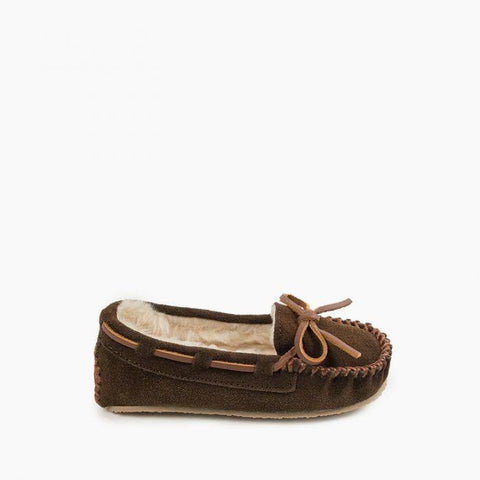 Minnetonka Children's Cassie Slipper Chocolate