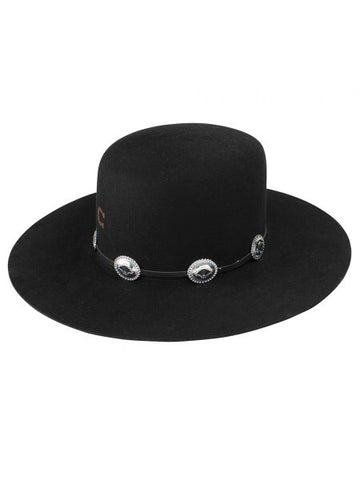 Charlie 1 Horse Women's Hat - Felt / Wool - Stage Coach - Black