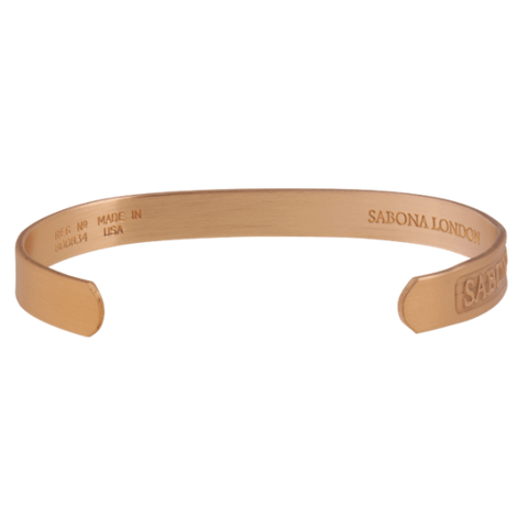 Sabona Original Brushed Copper Magnetic Bracelet