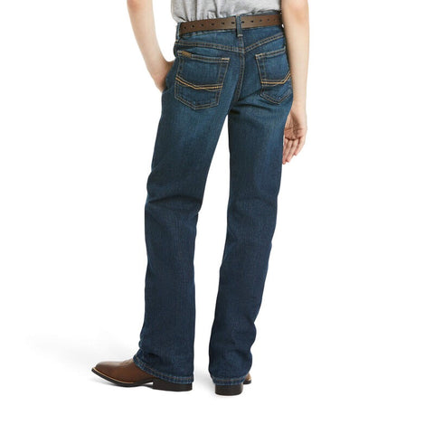 Ariat Boy's B4 Relaxed Stretch Legacy Boot Cut Jean