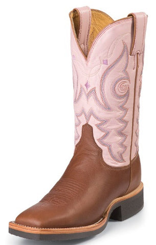 Justin Women's AQHA Q-Crepe Series Western Boots