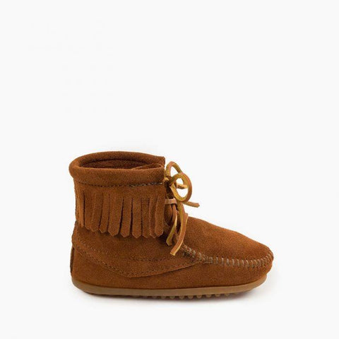 Minnetonka Children's Tramper Boot Brown