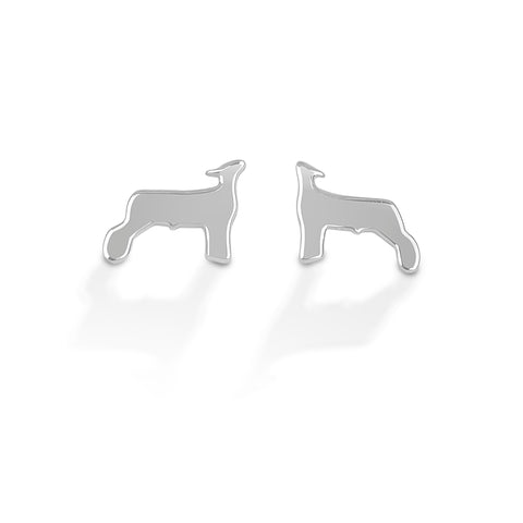 HCO Exclusive Sterling Silver Lamb Post Earrings