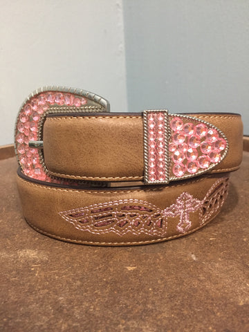 Blazin Roxx Girls Western Belt