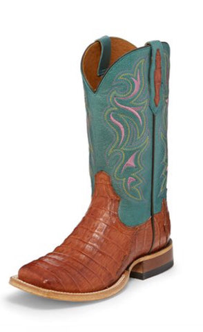 Tony Lama Caiman Belly Boots