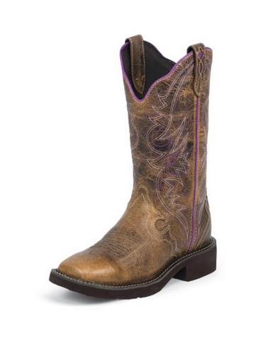 "Justin Women's 12"" Square Toe Gypsy Boots"