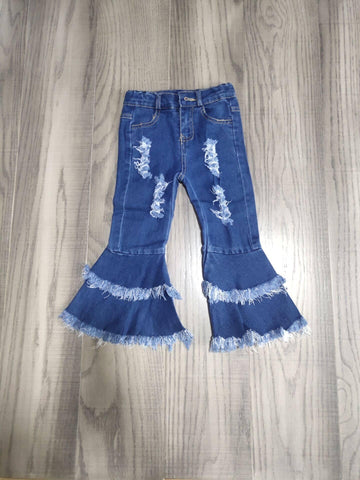 Toddler/Girls Denim Bell Bottoms