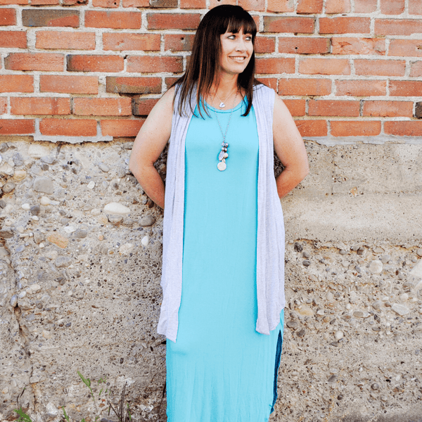 Sleeveless Drape
