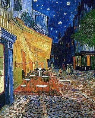 Diamond Painting, Van Gogh – Caféterrasse am Abend