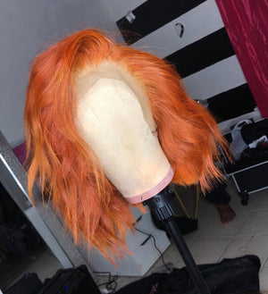 Orange Crush Custom Wig