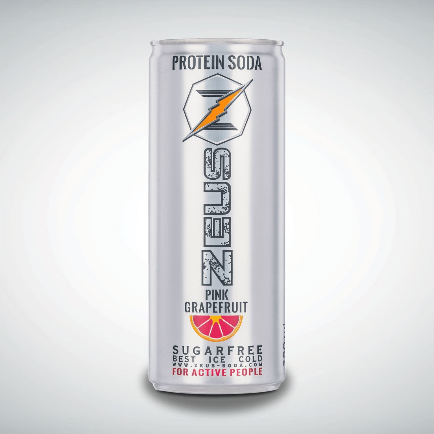 24er Tray<br>Zeus Protein Soda<br>PINK GRAPEFRUIT