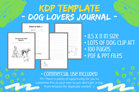 KDP Interior - Dog Lovers Journal Diary