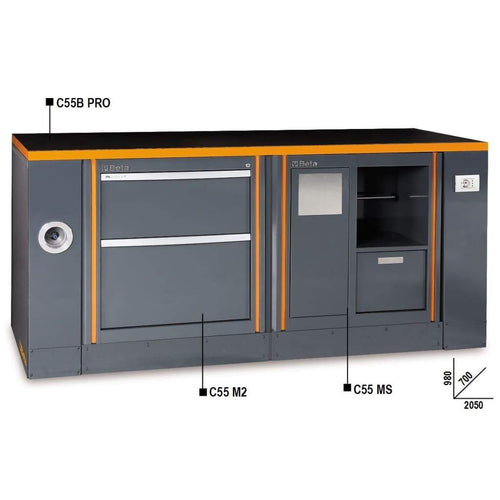 Workbench with Storage - ERB Holdings