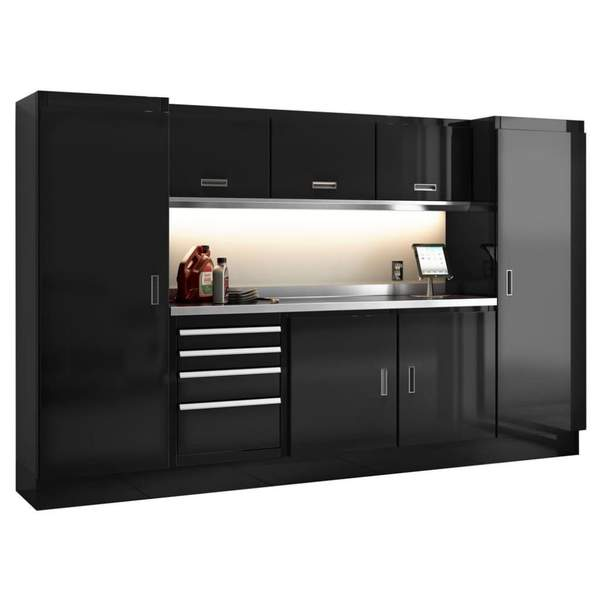 Series 10' Wide Garage Cabinet Combination - ERB Holdings