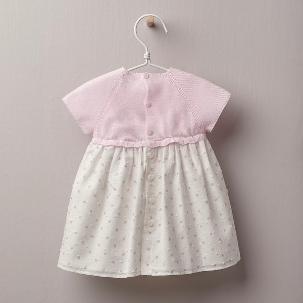 Vestido MT Flor Cotton Baby